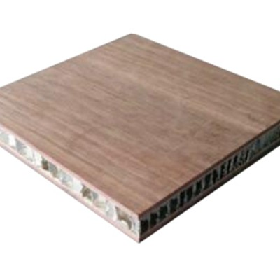 Imitation wood grain panel aluminum honeycomb