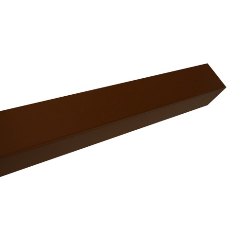 The aluminum rectangular tube