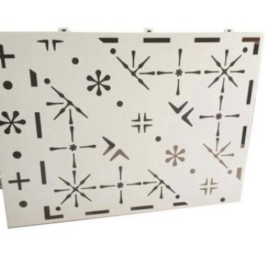aluminium facade perforated