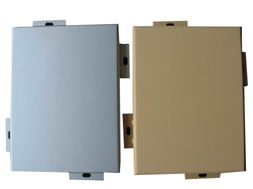 PVDF painting aluminum veneer curtain wall profile