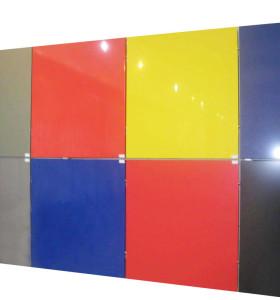 PVDF anodized aluminum composite plate