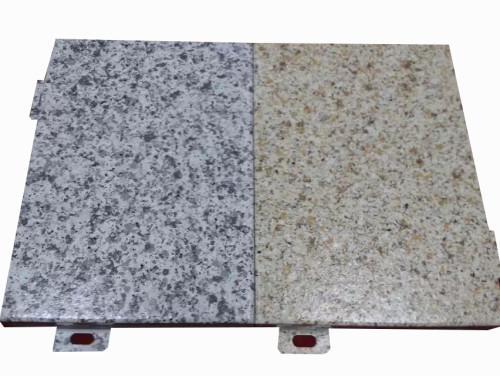 Office building Imitation stone aluminum-alloy for exterior wall