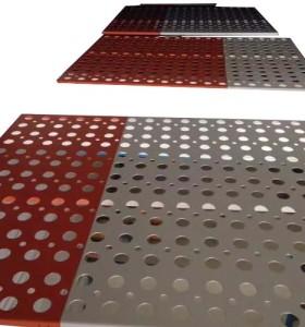 体育馆吊顶吸音铝单板