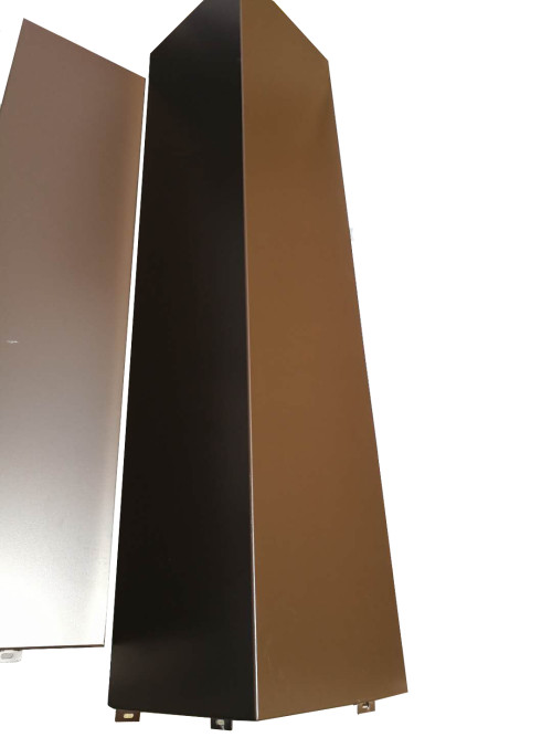方形包柱铝单板