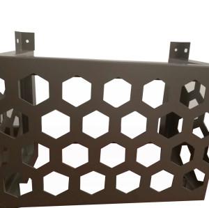 菱形穿孔铝板
