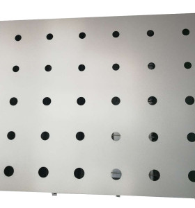 electrostatic spraying perforated aluminum ceiling for inner decoration