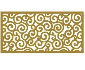 Carved hollow mashrabiya aluminum curtain wall