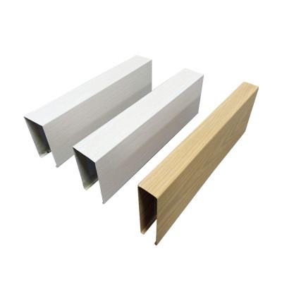 painted aluminum rectangular sections