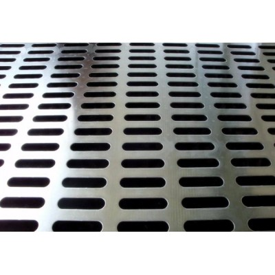 Spray oblong hole punching sheet