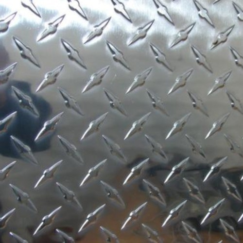 Customized 1000 3000 5000 6000 7000 series Aluminium checkered plate alloy embossed aluminum sheet