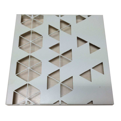 Carved Aluminum Solid Panel for Mall Exterior Wall