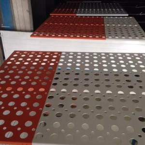 Customized Aluminium Perforated Panel For Airline Lounges Decoration