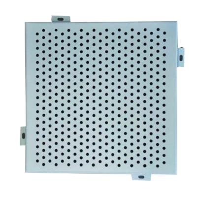 Anti - Corrosion Aluminium Perforated Panel , Custom Exterior Wall Cladding