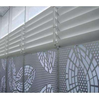 2mm carving board exterior wall cladding aluminum curtain wall panel