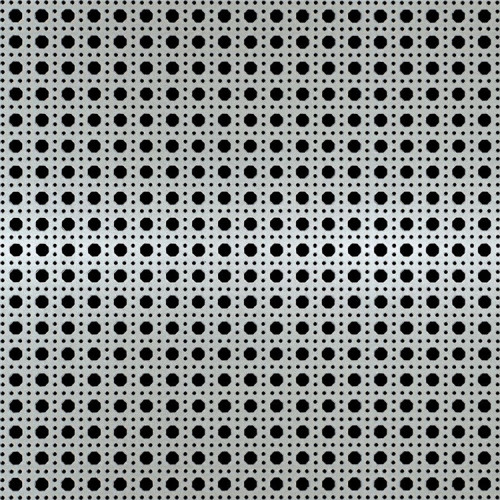 sheet metal perforated plate with high sound absorption coefficient
