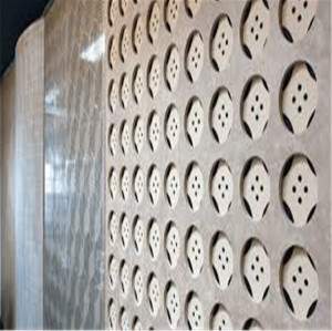 Carved perforated baffle decorative ceiling decorative panelmnw