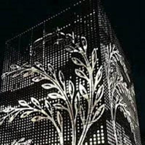 outdoor wall decor at hobby lobby Laser cutting aluminum panels