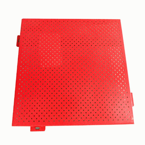 High quality punched aluminum mesh