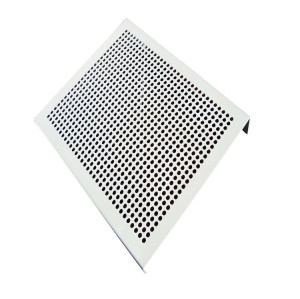 Waterproof steel perforated mesh decorative curtain wall supplier
