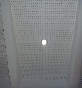 microporous sound-proof aluminum panel