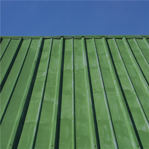 hot sale red Aluminium Corrugated Metal Roofing Sheet Aluminum Roof Panel for villa roof decoration