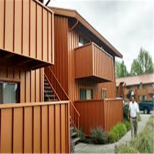 house exterior facade Wall-shaped curtain wall aluminum veneer