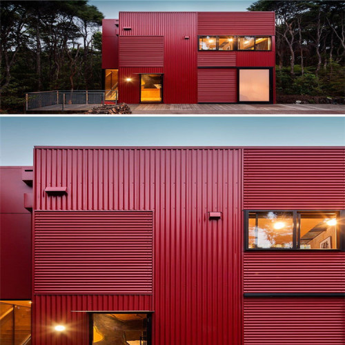Aluminum Material Metal Wall Facade Panels For Building Decoration Aluminum Facade