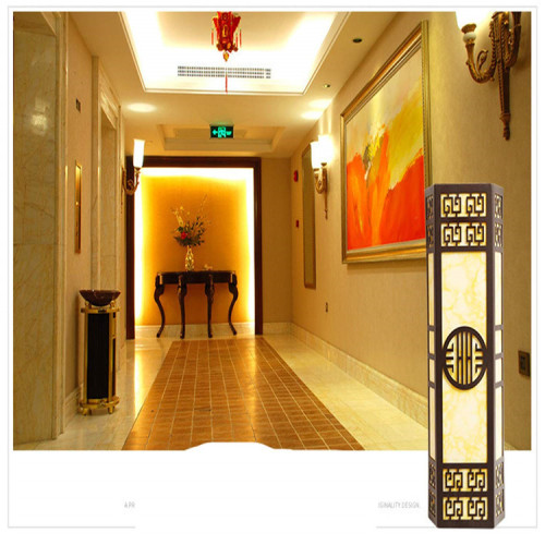wooden pattern Aluminum alloy piercing plate wall cladding used for Mall decoration