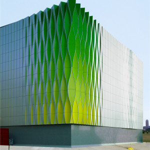 Aluminum 3D Wall Decorative Unitized Skyscraper Curtain Wall Facade Cladding Exterior & Interior Wall Panel