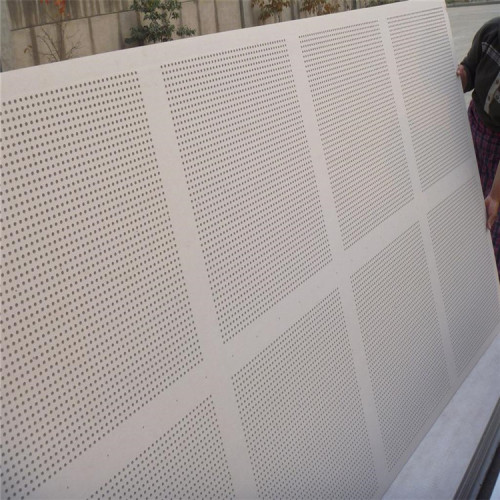perforated acoustic metal aluminum panel decorate for office building partition walls