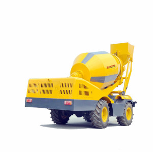 3.5m3 Automatic Self-loading Concrete Mixer Truck