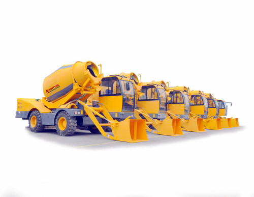 1.6m3 Automatic Self-loading Concrete Mixer Truck