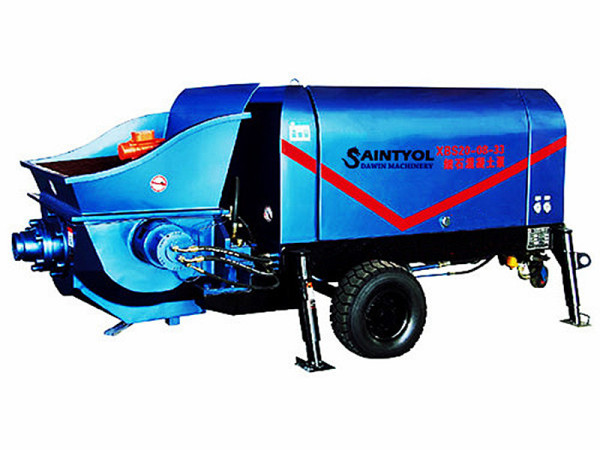 40m3/hr Trailer Concrete Pump With Diesel or Electric Power
