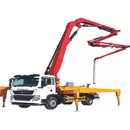 47m 6RZ Concrete Boom Pump Truck With Customized Chassis