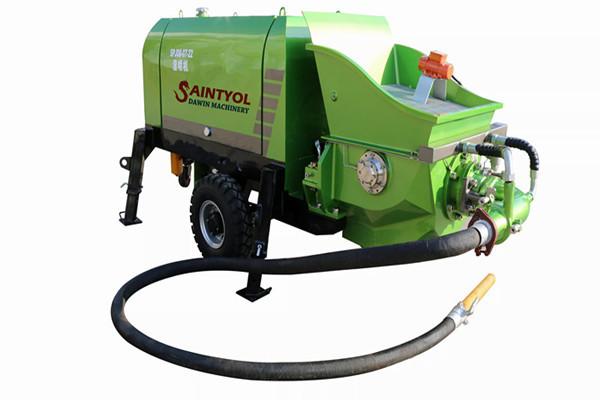 wet concrete shotcrete pump concrete spraying machine