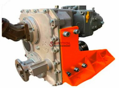 concrete boom pump truck transfer case