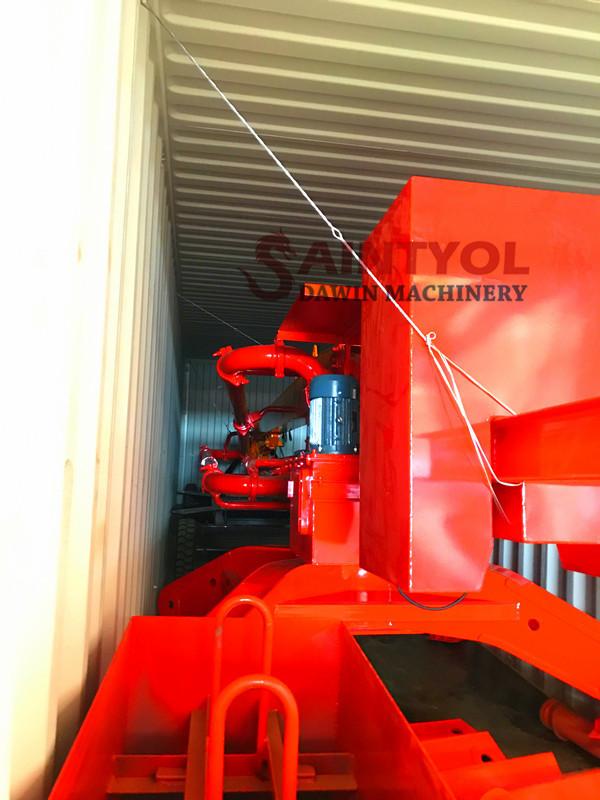 mobile spider hydraulic concrete placing boom