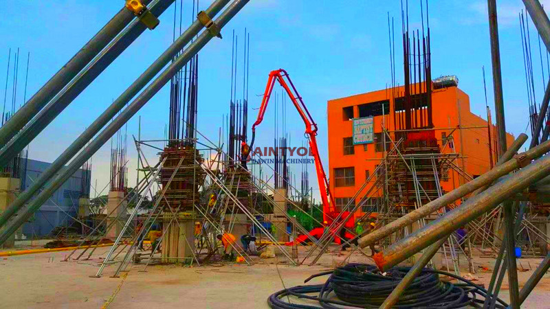 high quality concrete placing boom in China