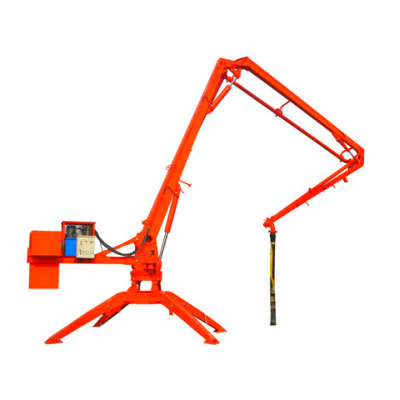 13m Trailer Mobile Spider Hydraulic Concrete Placing Boom