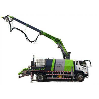30m3/hr Truck Mounted Wet Concrete Spraying Machine, Shotcrete Pump Truck