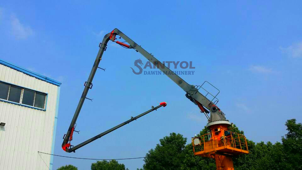 tower concrete placing boom