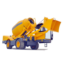 2.2m3 Automatic Self-loading Concrete Mixer Truck