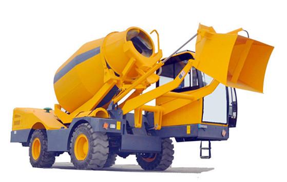 2.0m3 Automatic Self-loading Concrete Mixer Truck