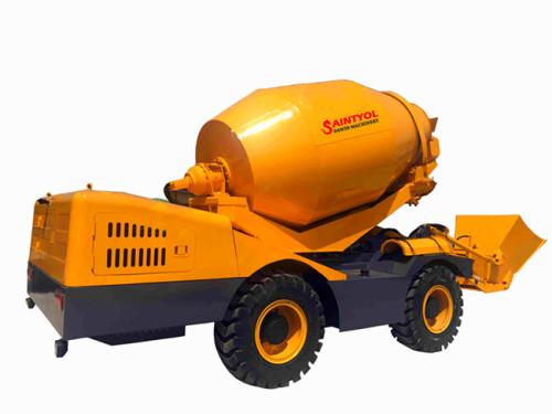 1.6m3 Automatic Self-loading Concrete Mixer Truck