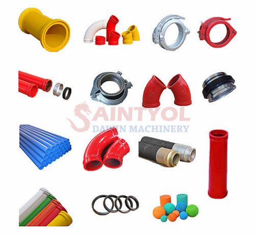 Concrete Pump Delivery Pipes and Accessories