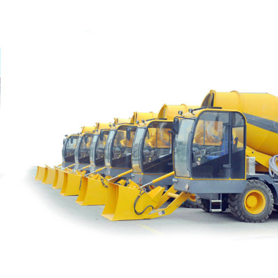 4.2m3 Automatic Self-loading Concrete Mixer Truck