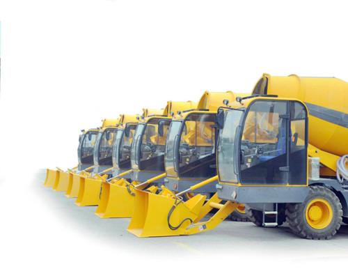 4.2m3 Automatic Self-loading Concrete Mixer Truck