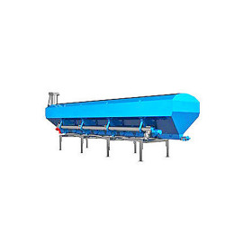 35 Ton New Design Low Profile Horizontal Cement Silo