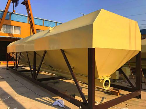 20 Ton, 40 Ton Low Profile Horizontal Silo, Cement Silo