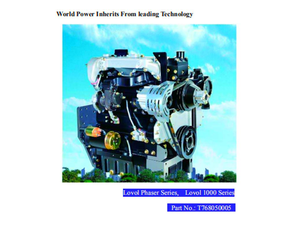 LOVOL 56KW diesel engine user book